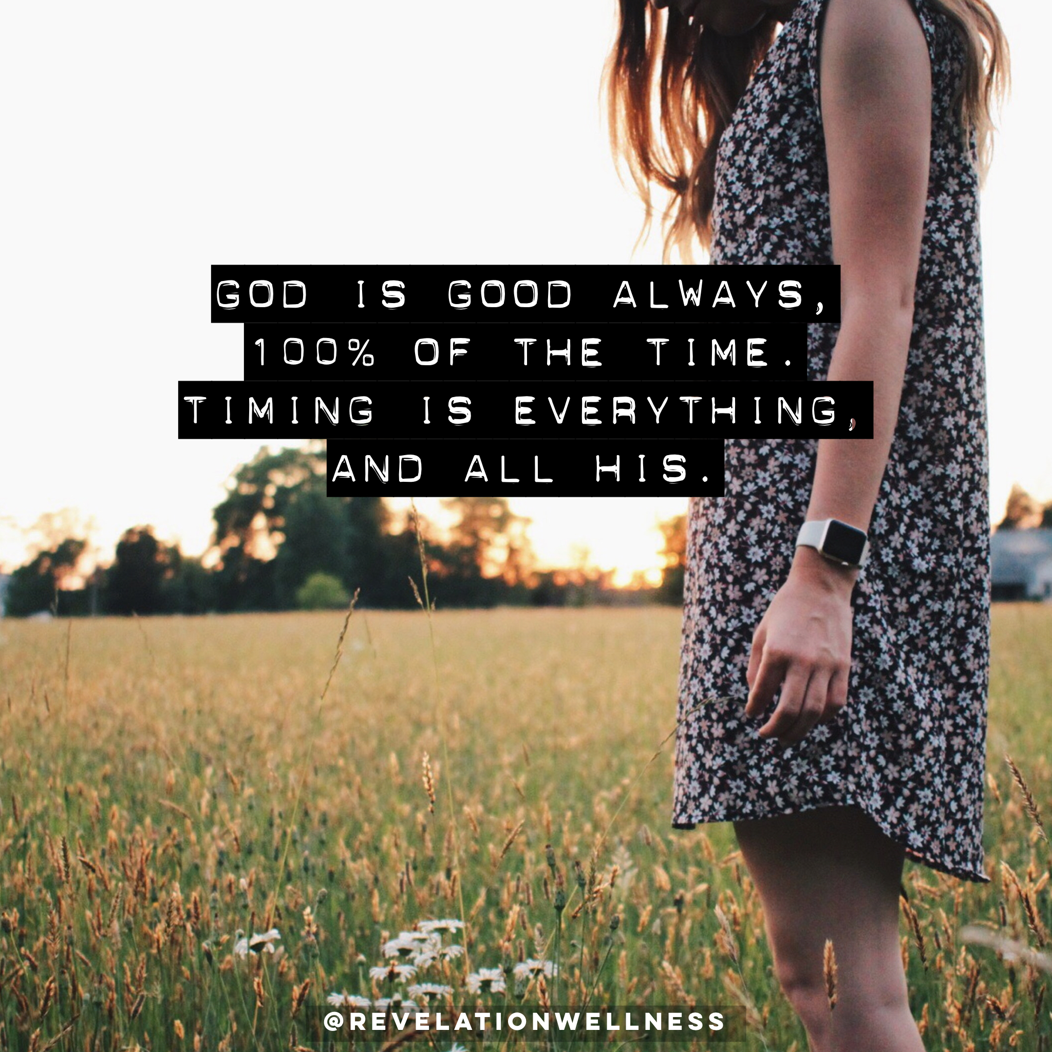 God's Goodness In The Waiting